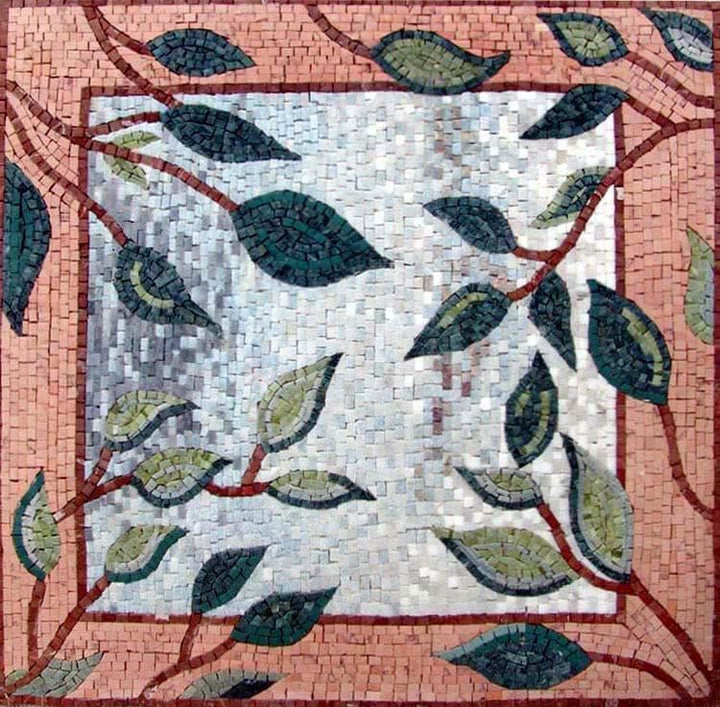 Mosaic Patterns - Flori Leaves