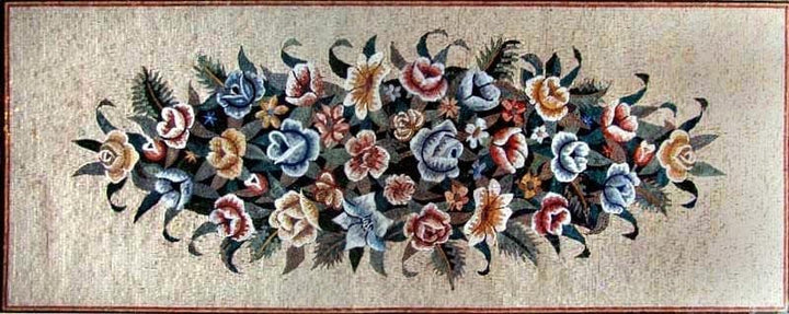Floral Mosaic Rugs