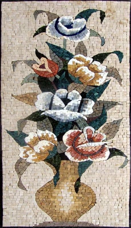 Mosaic Designs - Floral Bouquet