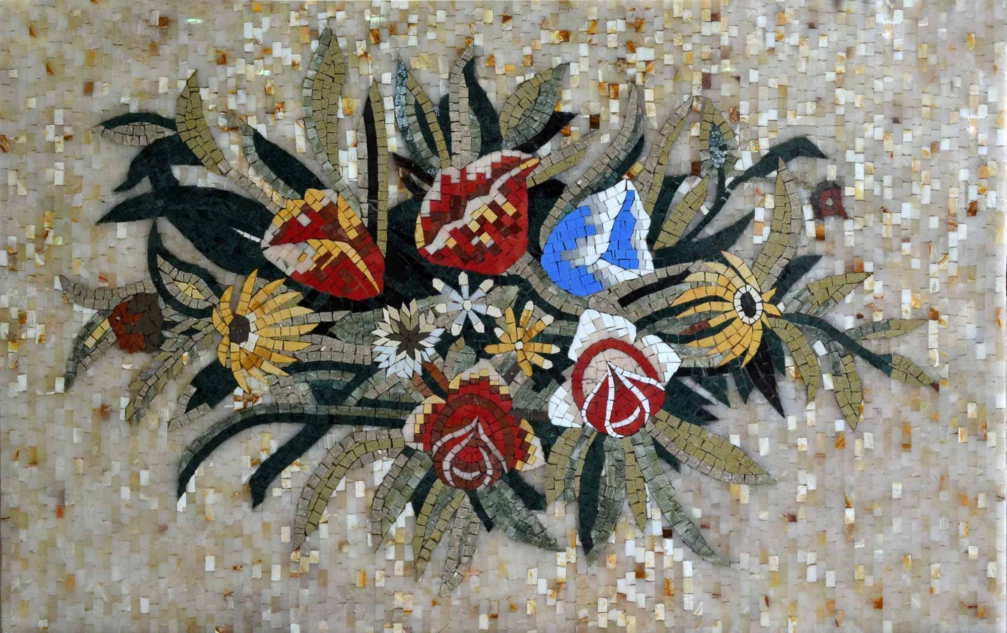 Mosaic Designs Flowery Fix Pic