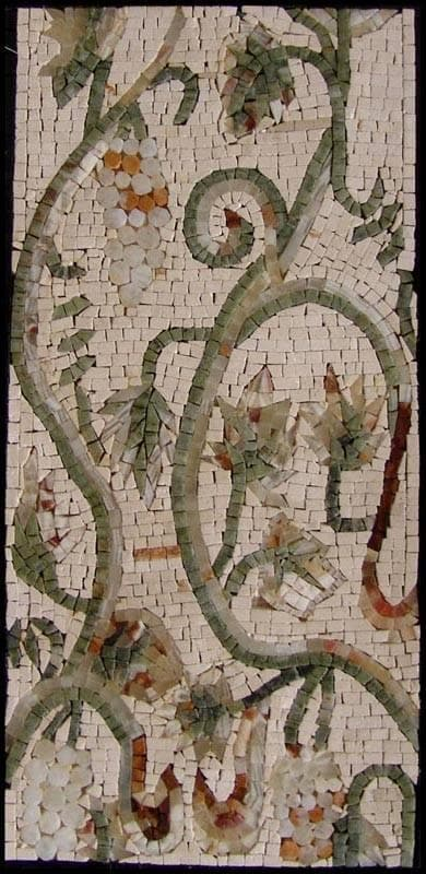 Mosaic Designs - Grapes and Leafs