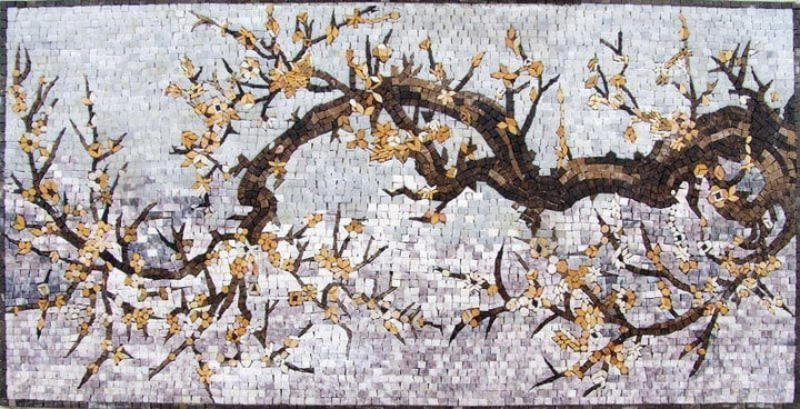 Mosaic Designs - Autumn Tree Trunk
