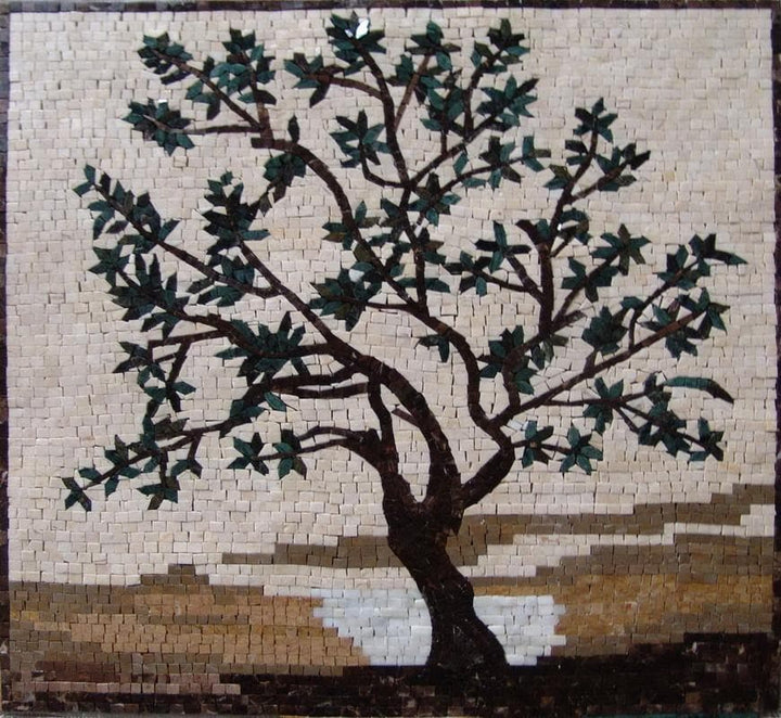 Mosaic Designs - A Tree Of Life