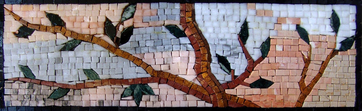 Mural Mosaic Art - Tree Branch