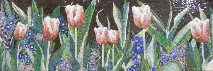 Mosaic Designs - Surreal Tulip