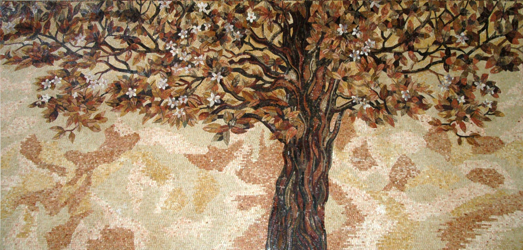 Mosaic Designs - Autumn Tree