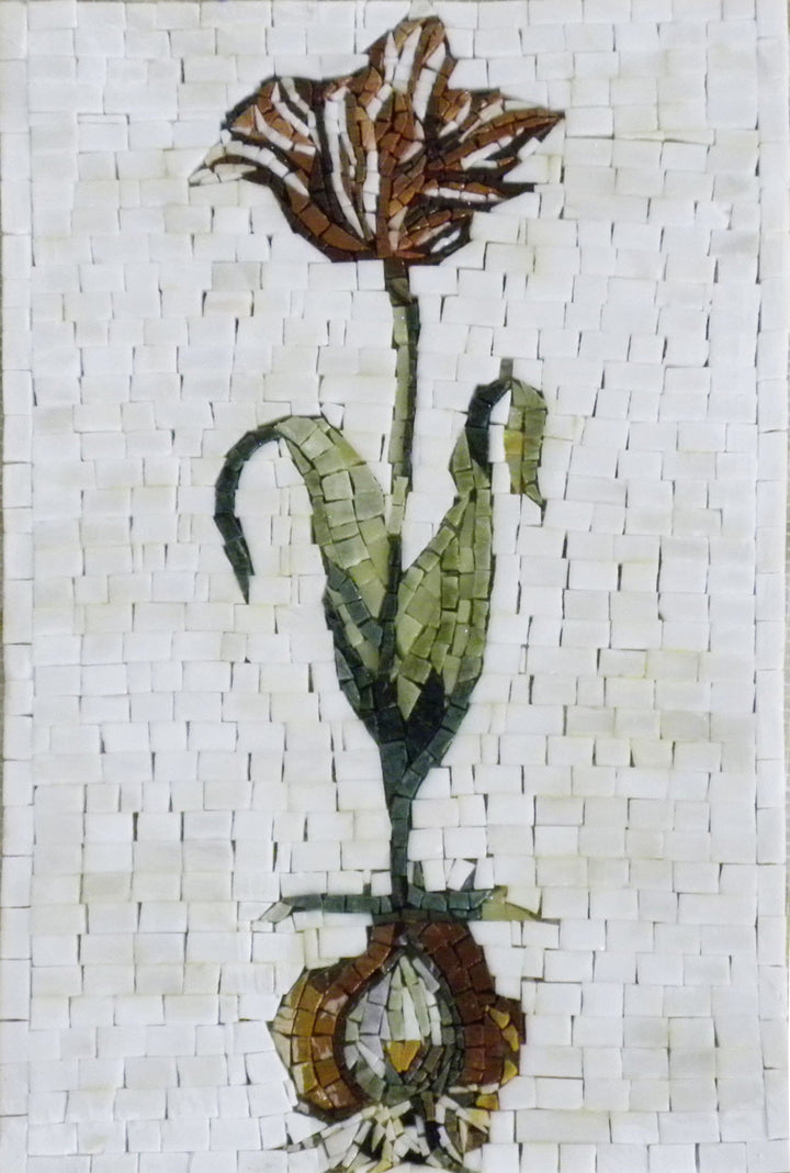 Mosaic Wall Art - Floral Root