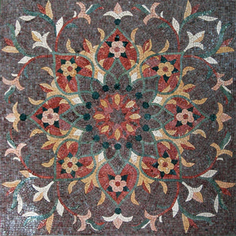 Flower Mosaic Art - Andrea