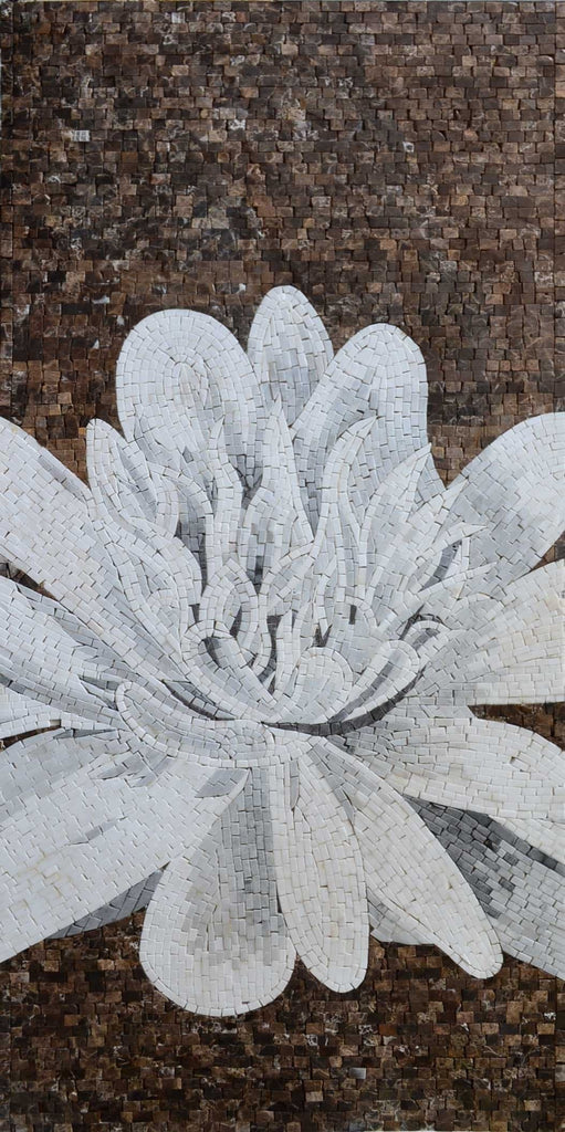 Mosaic Artwork - Lotus Flower