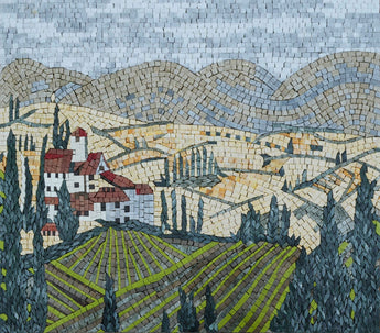 Tuscany-Inspired - Mosaic Wall Art