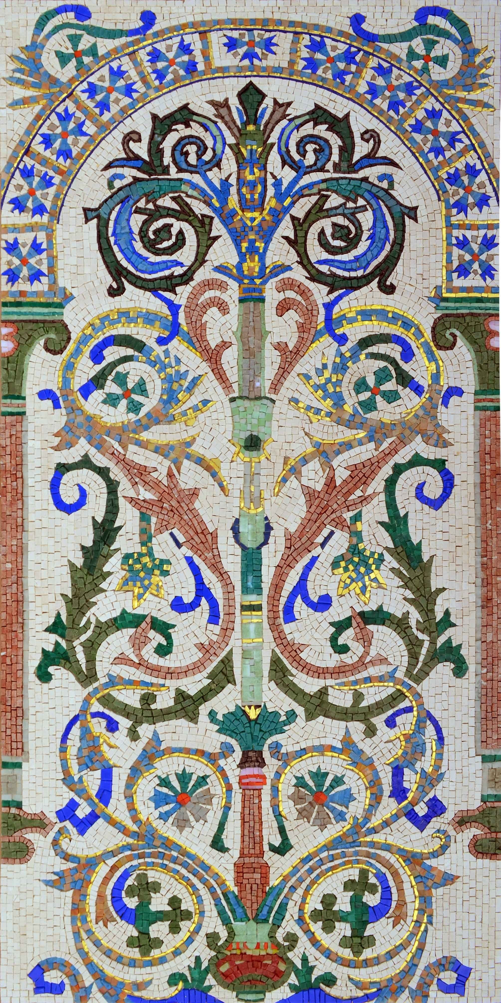 Mosaic Patterns - Tree of Kabbalah