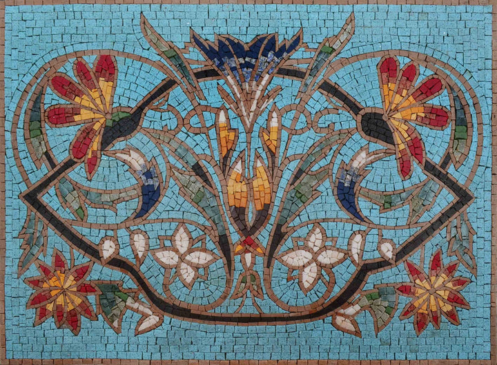 Mosaic Patterns - Turquoise Izmit