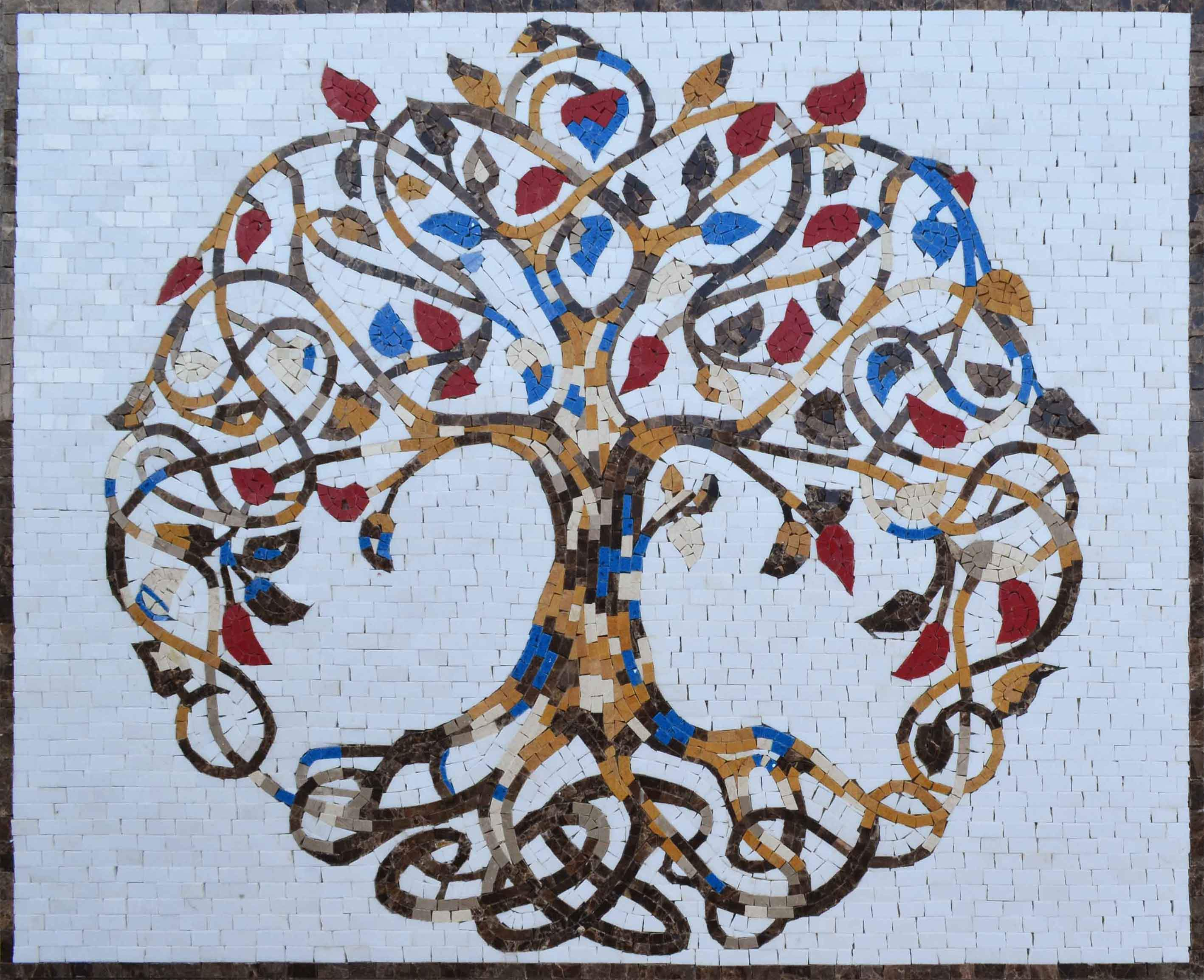 Exquisite Tree of Life - Mosaic Art
