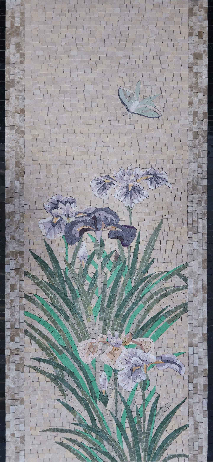 Lily of the Nile - Mosaic Artwork