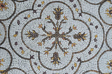 Botanical Mosaic Panel or Floor Inlay - Hadi