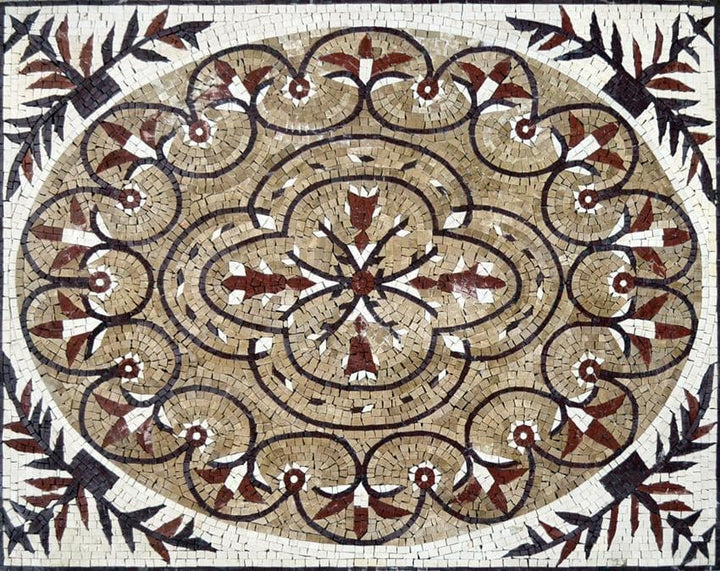 Rectangular Mosaic Panel - Sylvana