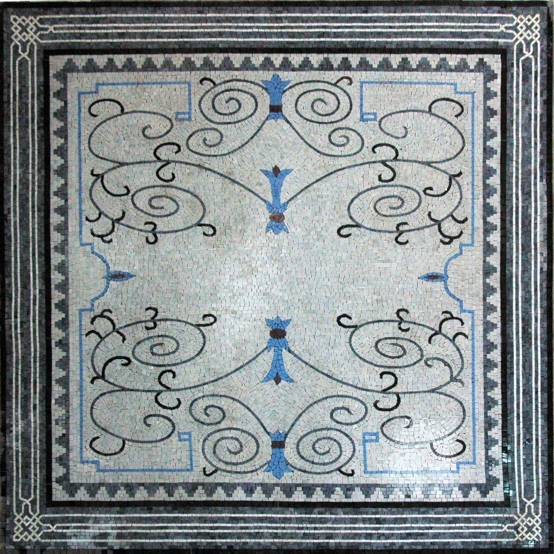 Artistic Design Hand Made Marble Mosaic