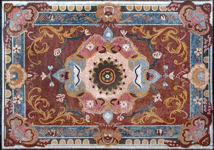 Colorful Rug Mosaic