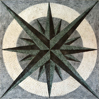 Nautical Mosaic Square - Doriis