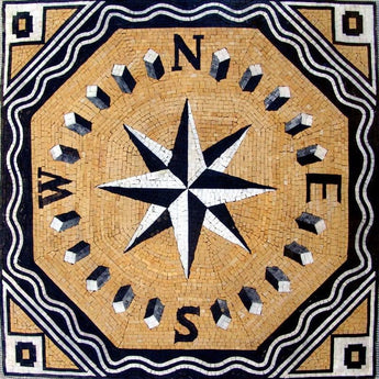 Geometric Mosaic - Wind Rose