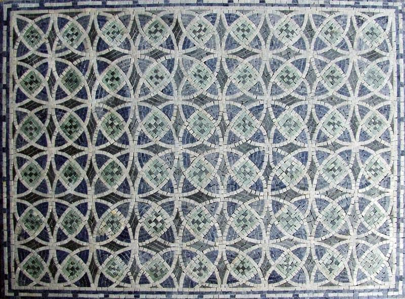 Mosaic Designs - Emerald Flower Of Life