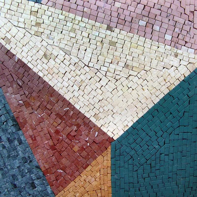 Brickwork - Abstract Mosaic art