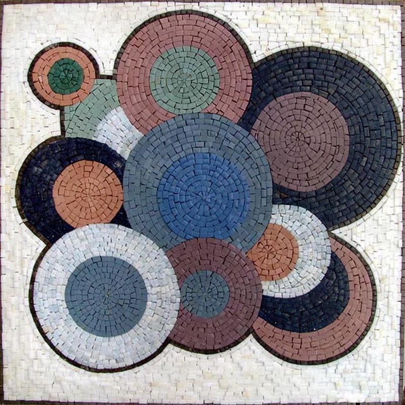 Mosaic Abstract Art - Vinyls Patterns