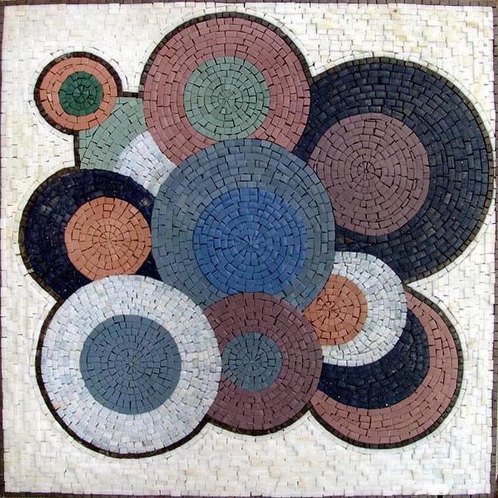 Vinyls Replicas - Abstract Mosaic Patterns