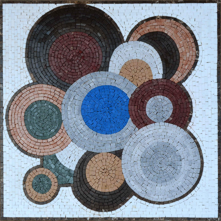 Vinyl Replicas - Abstract Mosaic Patterns