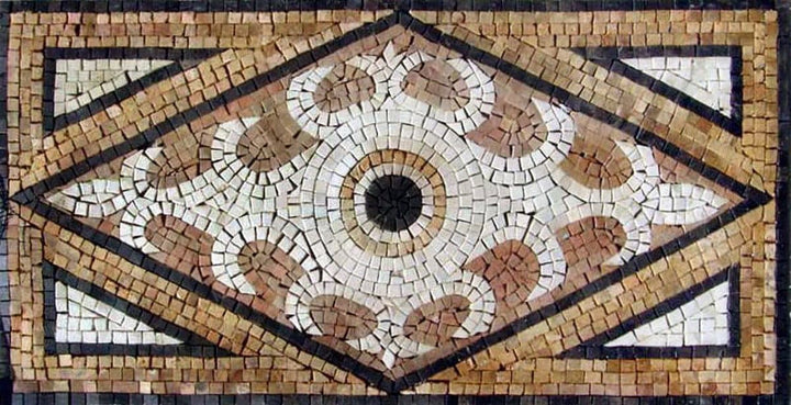 Decorative Mosaic Floor Tile - Brescia