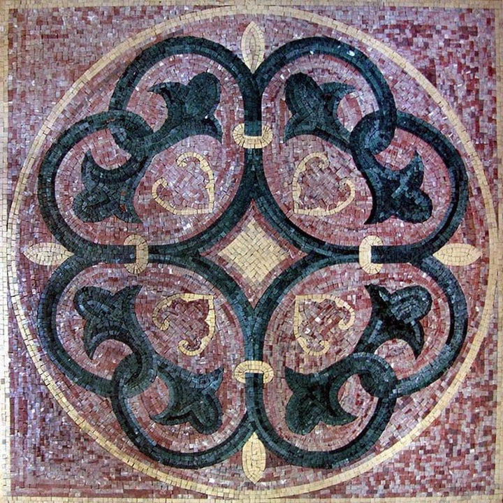 Lotus Pattern Mosaic - Laurentia