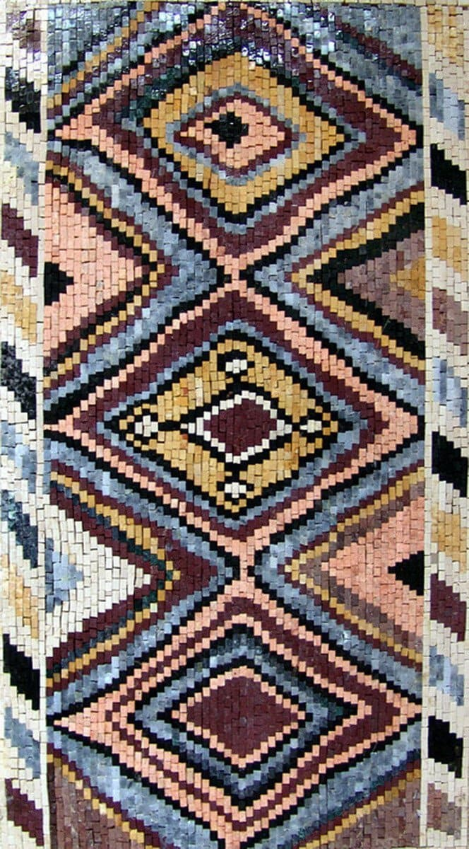 Turkish Rug Mosaic - Jaleh