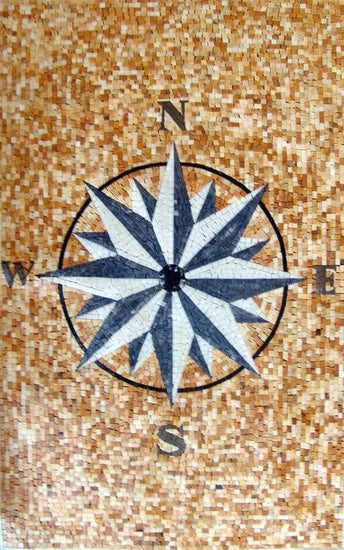 Mosaic Rugs - Compass