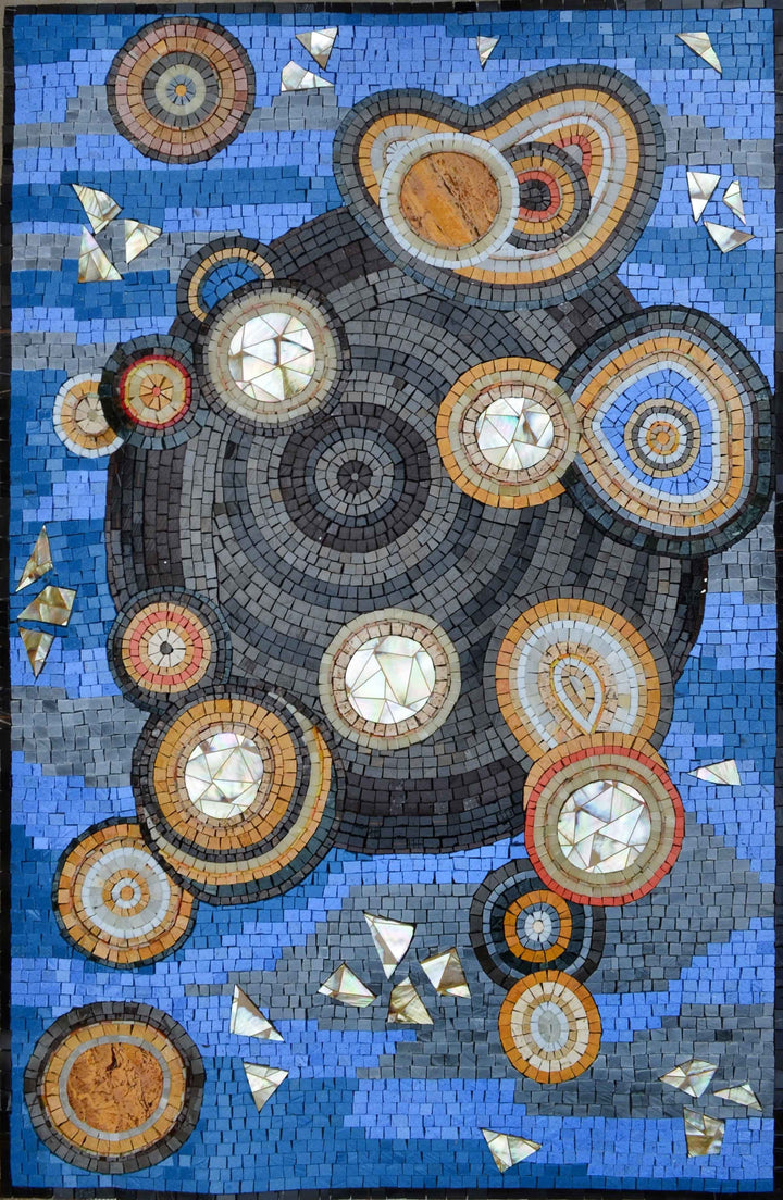 Abstract Mosaic Art - Mosaic Universe