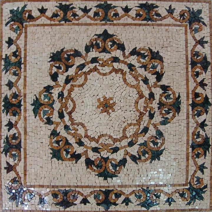 Mosaic Designs - Panel Mandala