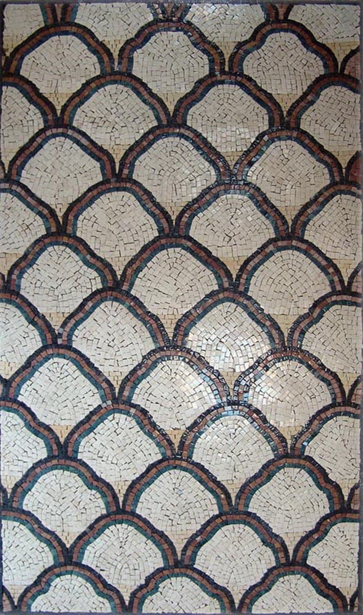 Pattern Tiles-Geometric Mosaic Design