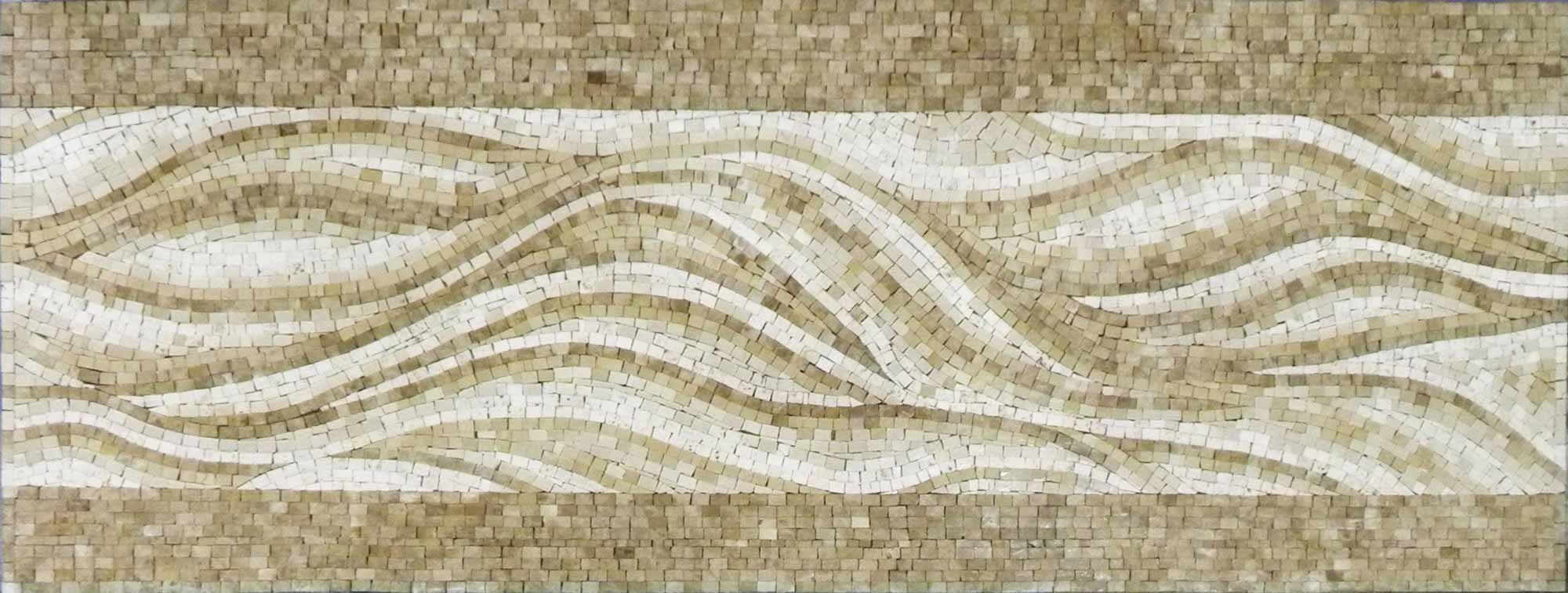 Mosaic Tile Patterns The Waves Pic