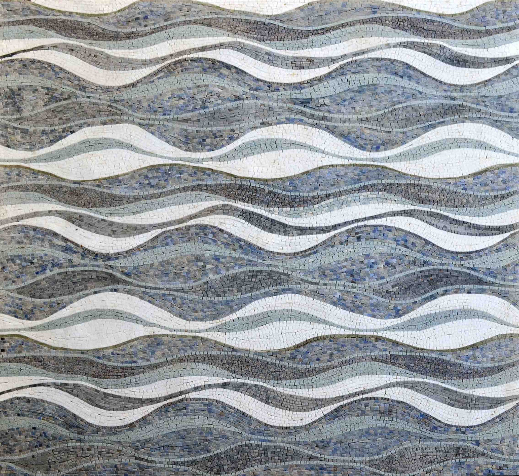Mosaic Patterns - Ocean Waves