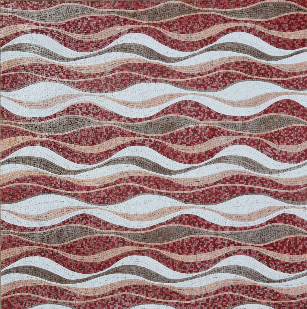 Mosaic Patterns - Cylindrica Waves