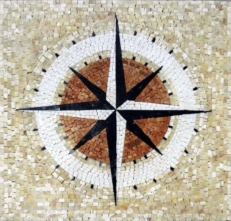 Nautical Marble Mosaic - Hiron