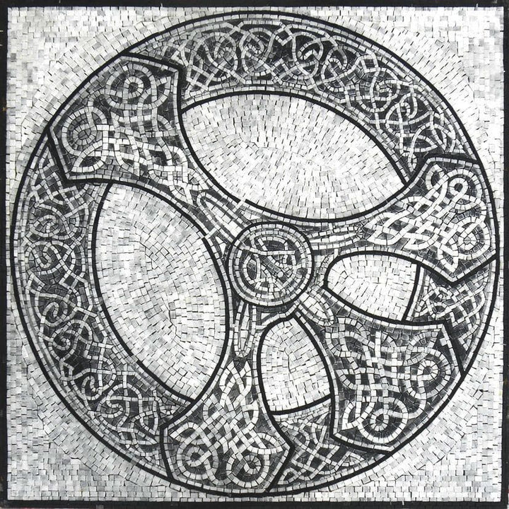 Celtic Art Mosaic - Pax