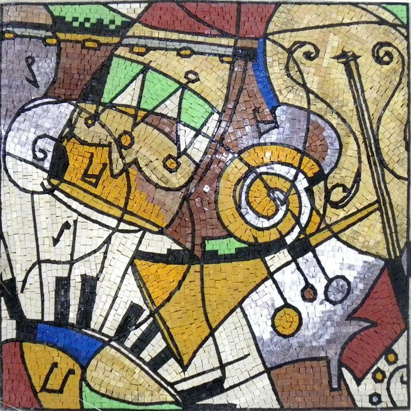 Musical Soiree  - Modern Mosaic Art