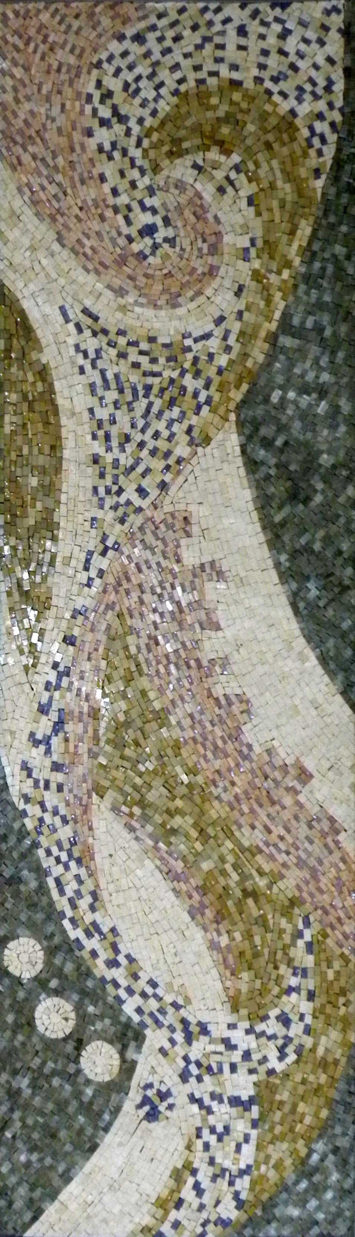 Impressionistic Flow - Abstract Mosaic Pattern