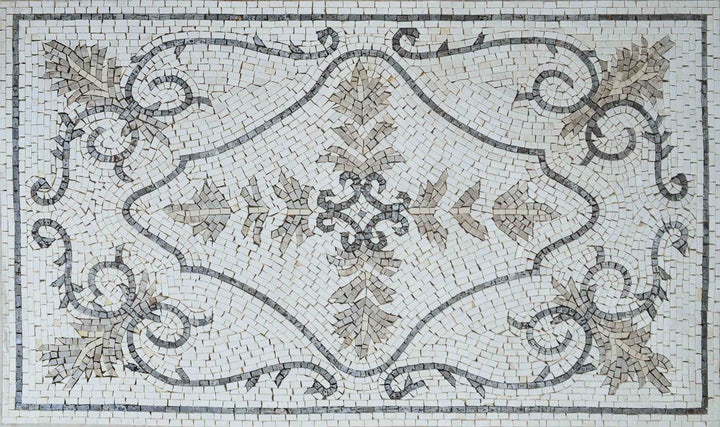 Decorative Mosaic Rugs - Pastels