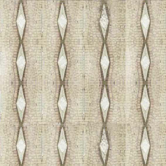 Graphic Geometric Pattern - Mosaic Wallpaper