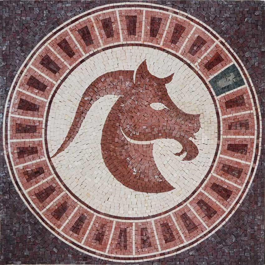 Horoscope Mosaic Design