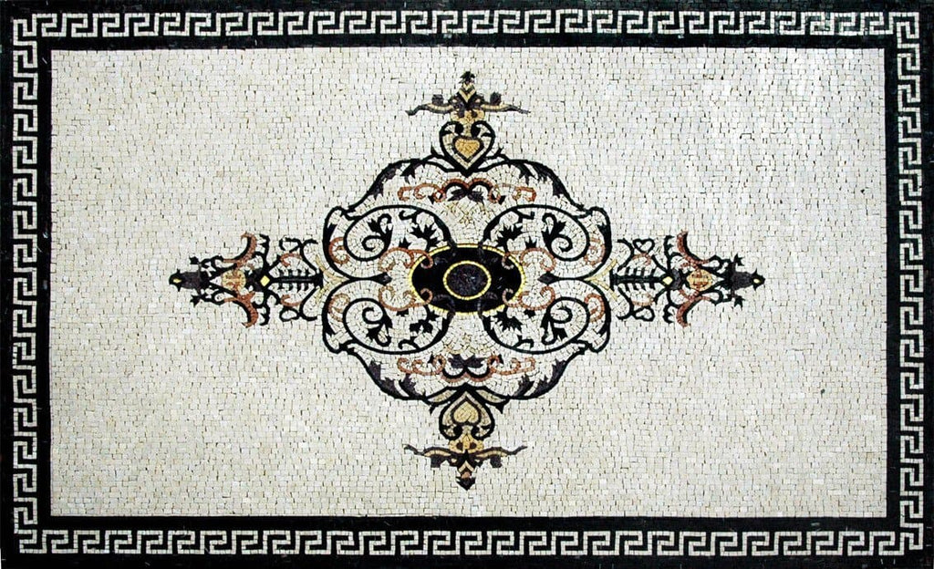 Beautiful Mosaic Marble Floor Wall Table top