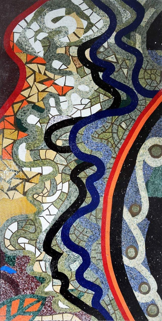 Abstract Mosaic Tile Patterns Pic