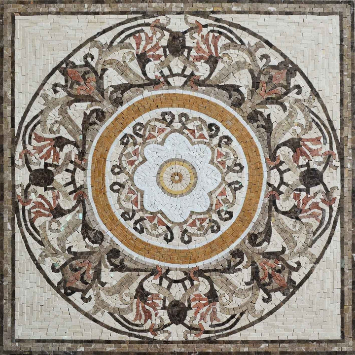 Persian Flower Mosaic - Minu