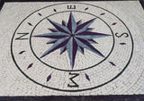 Marble Mosaic Compass - Bussola II